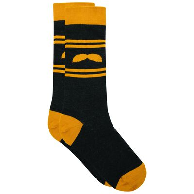 Tread & Miller Golden Stache sock