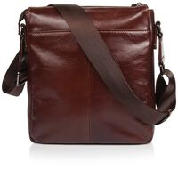 Arthur Jack Paris Satchel Bag -  brown-brown